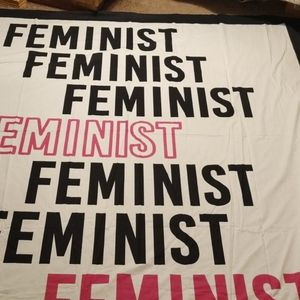 Everyday living wall cover Feminist